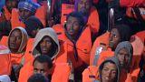Мигрантов спасают