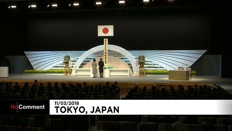 اليابان تحيي الذكري السابعة للتسونامي وكارثة مفاعل فوكوشيما