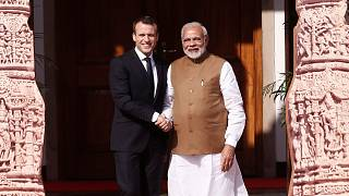 Emmanuel Macron se fait le chantre de l'énergie solaire