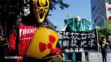 صورة اليوم: مظاهرة في تايوان في الذكرى السابعة للتسونامي