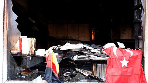 Anschlag wegen Afrin? Moschee in Berlin ausgebrannt - 3 Jugendliche rannten weg