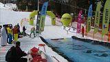 """Esqui Splash"" na Polónia"