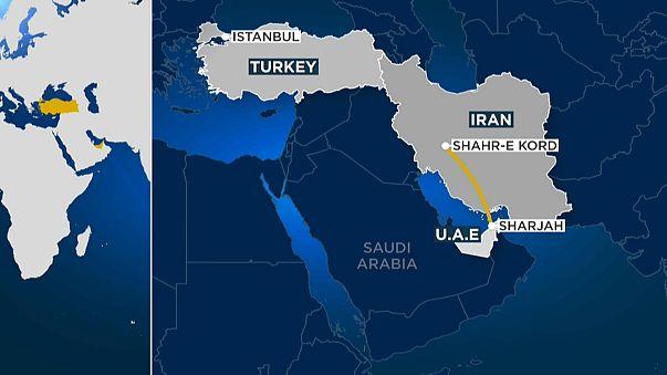 Крушение турецкого самолёта в Иране