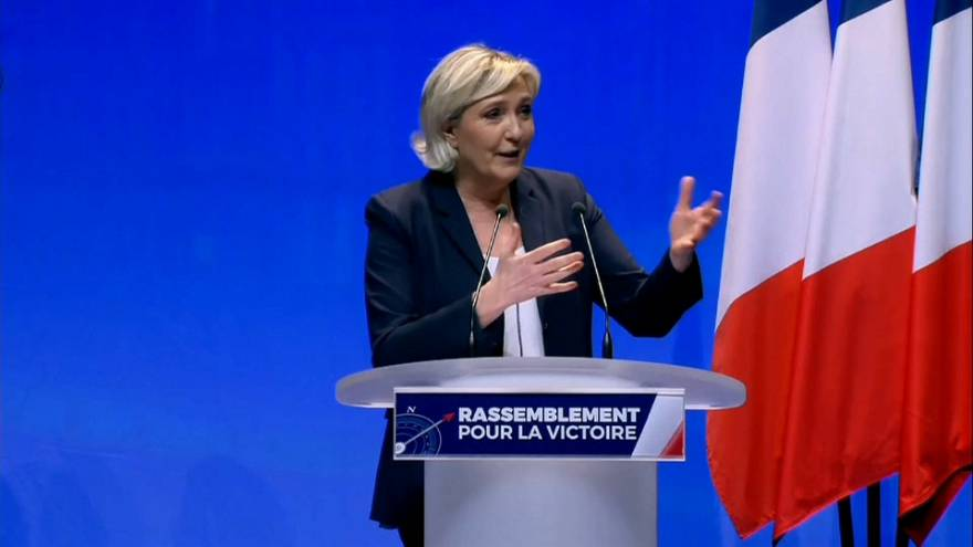 Il FN diventa 'Rassemblement National'