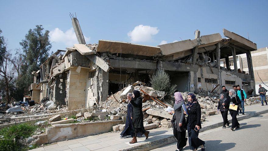 800 bin Iraklı terörün yerle bir ettiği memleketlerine geri döndü