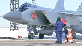 Rusya'dan hipersonik 'hançer füzesi' denemesi