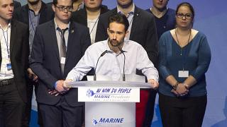 Prominent Front National youth member suspended over alleged racist slur