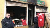 Berlin'de Türk camisine molotoflu saldırı