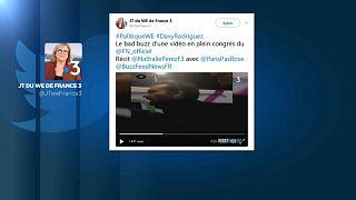 """Un cadre du FN suspendu pour """"injures racistes"""""""