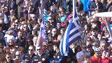 Mobilisation en faveur de soldats grecs détenus en Turquie