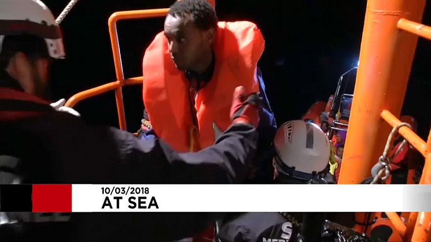 Une centaine de migrants secourus près des côtes libyennes