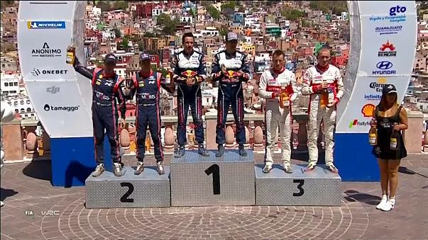 Sébastien Ogier s'impose au Mexique