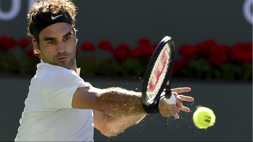 Roger Federer eliminou o argentino Federico Delbonis