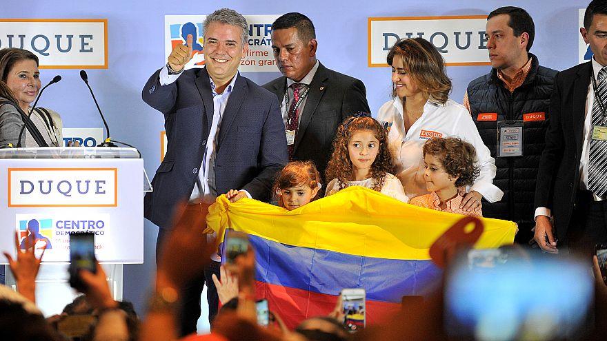Ivan Duque, candidato presidenziale della destra di Uribe