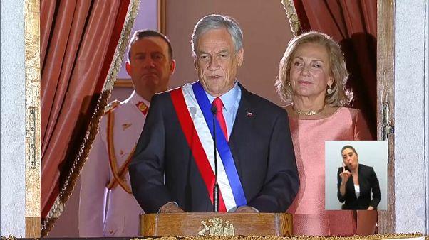 Piñera comienza su segundo mandato lleno de propuestas sociales