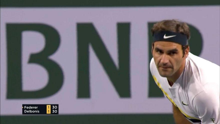 Турнир в Индиан-Уэллсе: Федерер и Джокович