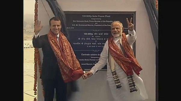 La France entre solaire et nucléaire en Inde
