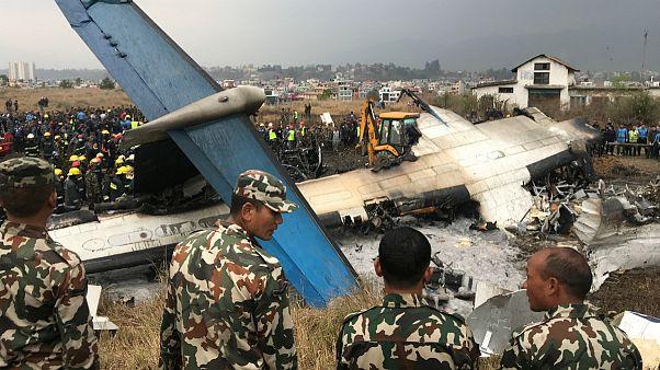 لاشه هواپیمای خطوط هوایی بنگلادش
