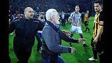 Grecia suspende la liga de fútbol por el caso PAOK-AEK