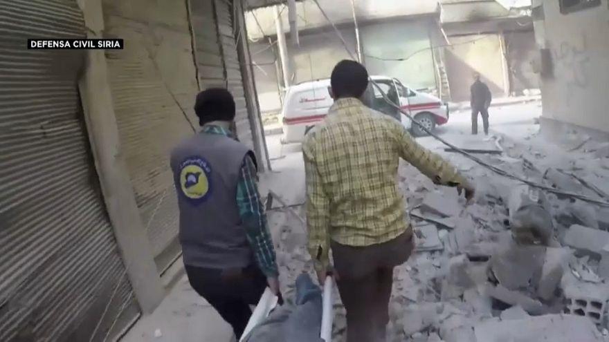 Facciones rebeldes divididas pero sin corredor humanitario en Guta