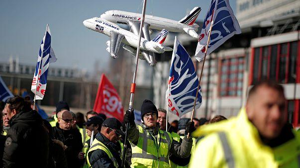 Trabalhadores da Air France julgados novamente