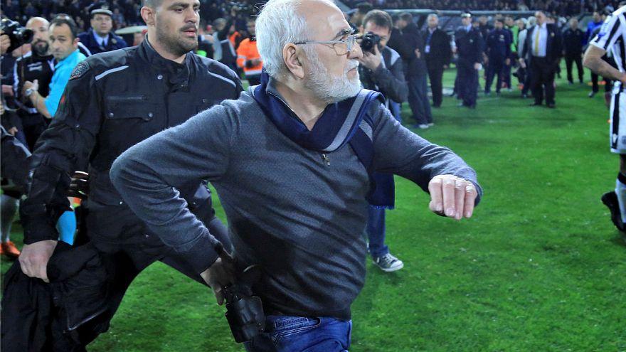 Yunanistan'da lig maçları askıya alındı