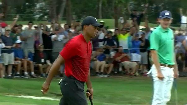 Tiger Woods termina segundo en el Campeonato Vaspar