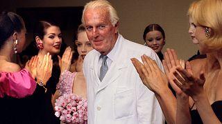 Πέθανε σε ηλικία 91 ετών ο θρύλος της γαλλικής μόδας Ιμπέρ ντε Ζιβανσί