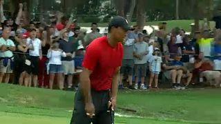 Tiger Woods kis híján újra győzött
