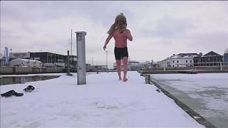 Eis-Schwimm-Weltmeisterschaften in Tallinn