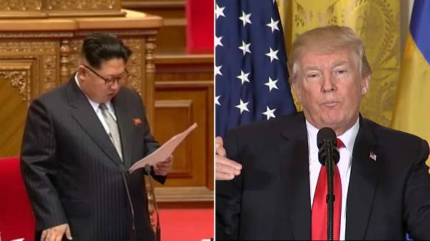 US and North Korea nation's leaders