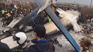La negligencia de la torre de control, posible causa del accidente de Katmandú