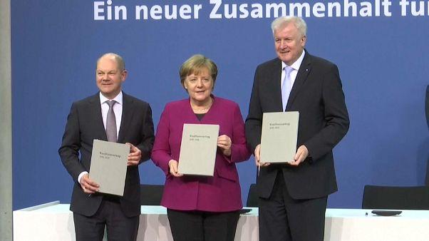 Alemania reedita su cuarta gran coalición