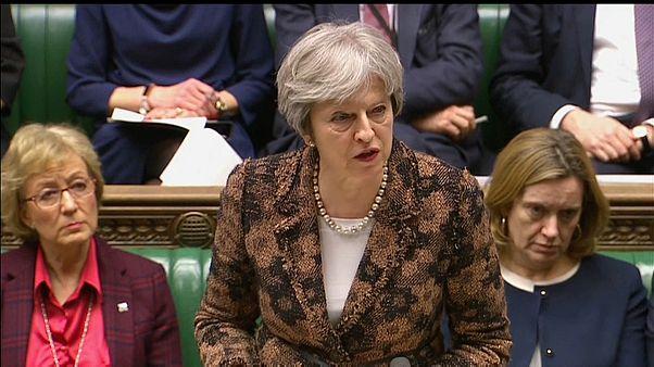 Theresa May aponta o dedo acusador à Rússia