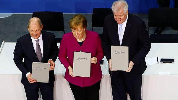 Коалиционное соглашение подписано