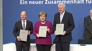 Alemanha oficializa governo de coligação