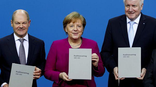 Γερμανία: Έπεσαν οι υπογραφές για τον μεγάλο συνασπισμό