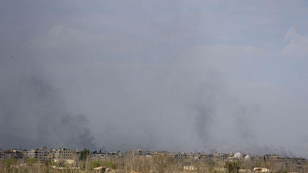 Γούτα: Αποκόπηκαν οι αντάρτες από τις δυνάμεις του Άσαντ