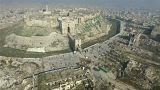 Алеппо с птичьего полета