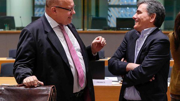FMs Altmaier (D) und Tsakalotos (GR) am Montag in Brüssel