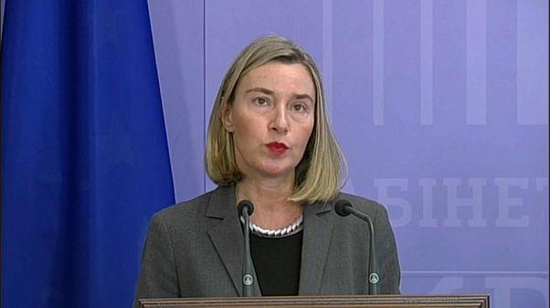 Mogherini diz que UE não reconhecerá eleições russas na Crimeia