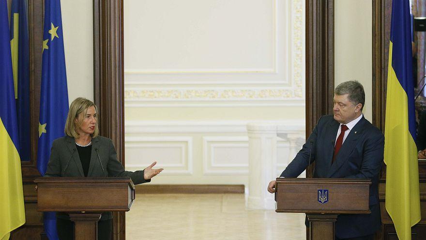 Могерини обещает поддержать Украину