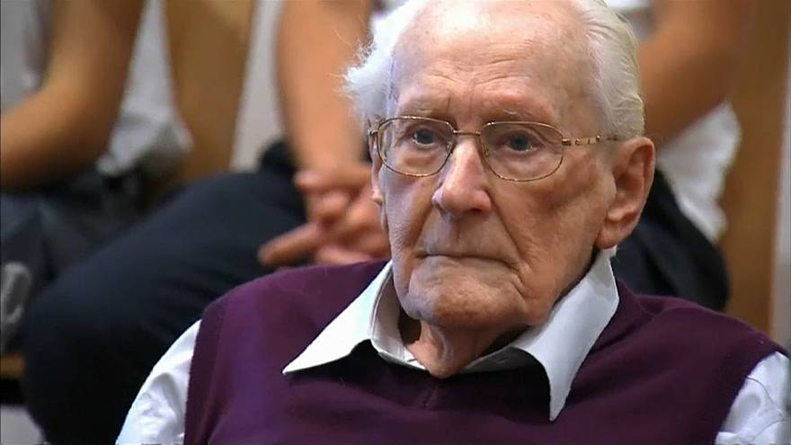 Mit 96 Jahren: SS-Buchhalter Oskar Gröning ist tot
