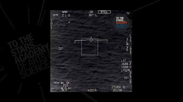 شئ مرموز پرنده در ویدئوی وزارت دفاع آمریکا