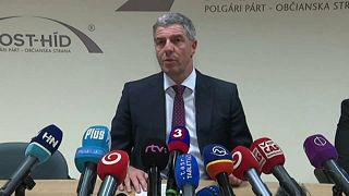 Előrehozott választásokról fognak tárgyalni Szlovákiában