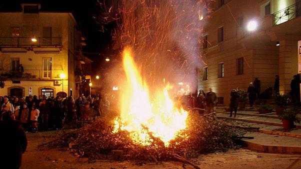 جشن سن جوزپه ایتالیا در پایان زمستان