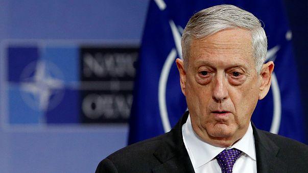 وزير الدفاع الأميركي جايمس ماتيس