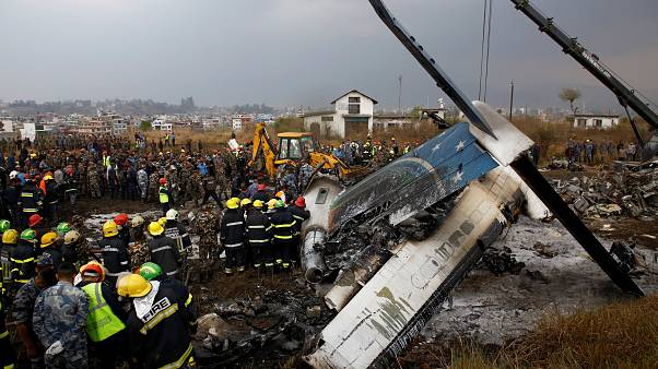 La aerolínea acusa a la torre de control de la tragedia aérea de Katmandú