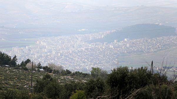 TSK Afrin kent merkezini kuşattı
