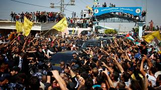 Visite Premier ministre palestinien à Gaza.